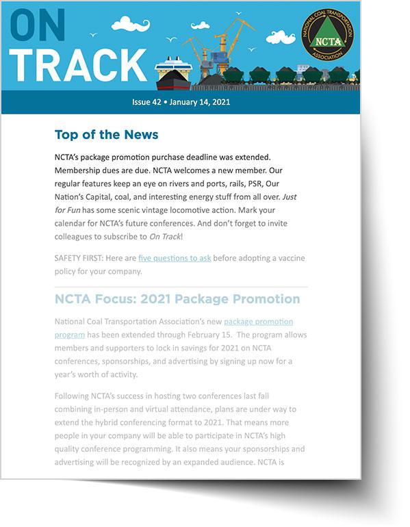 On Tranck Newsletter